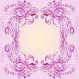 Frame cor-de-rosa abstrato Imagens de Stock Royalty Free