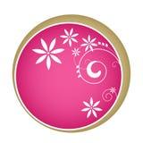 Frame cor-de-rosa abstrato Ilustração Royalty Free