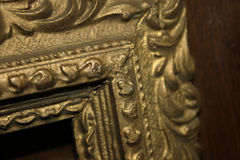 Frame Corner. Antique guilded frame corner details Royalty Free Stock Image