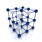 Frame cube Stock Images