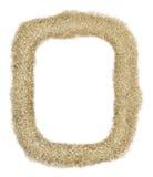 Frame da areia do retângulo Imagens de Stock Royalty Free