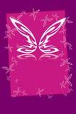 Frame da borboleta ilustração stock