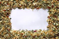 Frame da especiaria Fotos de Stock