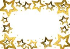 Frame da estrela do Natal Fotos de Stock