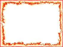 Frame da flama ilustração royalty free