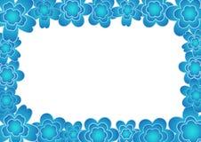 Frame da flor Foto de Stock Royalty Free