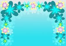 Frame da flor Imagens de Stock