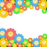 Frame da flor Fotografia de Stock