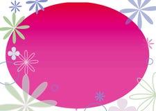 Frame da flor Foto de Stock