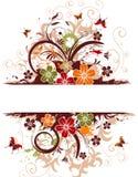 Frame da flor Fotos de Stock Royalty Free