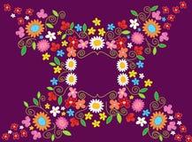 Frame da flor da mola ilustração royalty free