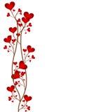 Frame da flor do amor ilustração royalty free