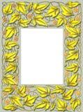 Frame da folha da queda Fotografia de Stock Royalty Free