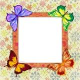 Frame da foto ilustração stock