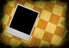 Frame da foto de encontro ao fundo sujo Imagem de Stock Royalty Free