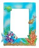Frame da foto do Aqua Imagens de Stock Royalty Free