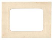 Frame da foto do cartão Fotos de Stock