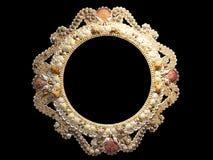Frame da foto dos Seashells Fotografia de Stock Royalty Free
