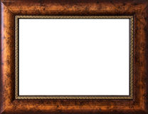 Frame da foto isolado no fundo branco Imagem de Stock Royalty Free