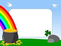 Frame da foto - St. Patrick [1] Fotografia de Stock Royalty Free
