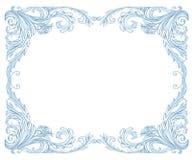 Frame da geada ilustração royalty free