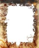 Frame da natureza de Grunge Imagem de Stock