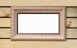Frame da pintura na madeira Fotografia de Stock Royalty Free