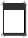 Frame da placa Foto de Stock