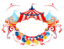 Frame da tenda do circus Foto de Stock Royalty Free