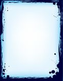 Frame da tinta do Splatter ilustração stock
