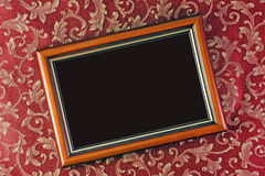 Frame with a dark background Stock Images