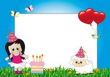 Frame das crianças ilustração royalty free