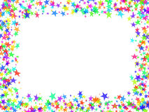Frame das estrelas Imagens de Stock
