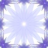 Frame das estrelas azuis ilustração stock
