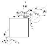 Frame das flores Imagens de Stock Royalty Free