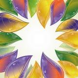 Frame das folhas de outono Imagem de Stock Royalty Free