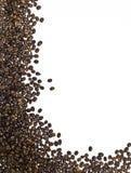 Frame dat van koffiebonen wordt gemaakt Royalty-vrije Stock Fotografie