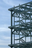 Frame de aço da construção Imagens de Stock Royalty Free