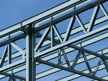 Frame de aço da construção Fotos de Stock Royalty Free