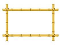 Frame de bambu Fotografia de Stock Royalty Free