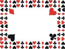 Frame de cartão ilustração royalty free