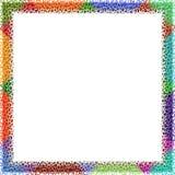Frame de Colorfull Fotos de Stock Royalty Free