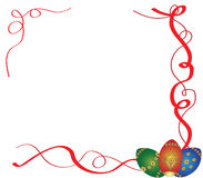 Frame de Easter Imagens de Stock Royalty Free