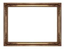 Frame de Gloden Imagens de Stock