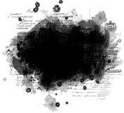 Frame de Grunge com texto ilustração royalty free