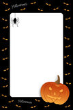 Frame de Halloween Foto de Stock Royalty Free