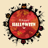 Frame de Halloween Fotografia de Stock Royalty Free