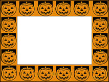 Frame de Halloween Fotos de Stock