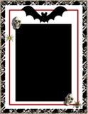 Frame de Halloween Fotografia de Stock