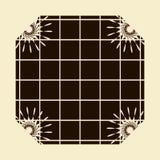 Frame de indicador do Sepia Fotos de Stock